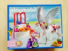 COLLECTOR PLAYMOBIL 5144 ♥ PRINCESSE REINE QUEEN LICORNE PEGASE Unicorn Pegasus