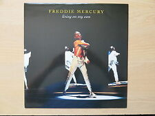 "FREDDIE MERCURY Living On My Own  UK 12"" single in picture sleeve Parlophone"
