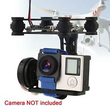 CNC Metal Brushless Camera Gimbal With Controller For FPV 2 GoPro 3/4 Black TL
