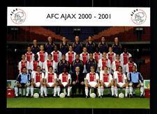 Original Mannschaftskarte Ajax Amsterdam 2000-01 TOP  +A28838
