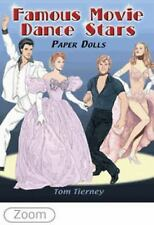 Dover FAMOUS MOVIE DANCE STARS Paper Dolls Tom Tierney Fine 2009