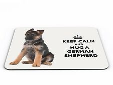 Keep Calm And Hug A German Shepherd Computer PC Mousemat - Brand New