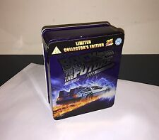 25th Anniversary Back to the Future Trilogy Blu Ray Tin Limited Edition