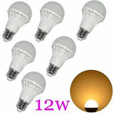 4X LED Light Bulb E26 110V 12W 90W Incandescent Warm White HOME STORE SHOP HOUSE