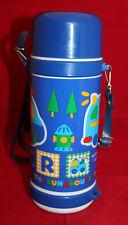 Sanrio Japan The Runabous Skater Plastic Water Bottle Suitou Blue Strap Vintage