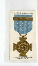 (Jd6779) PLAYERS,WAR DECORATIONS & MEDALS,MEDAL OF HONOUR NAVY,1927,#31