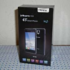 """New iView Supra Mini M45 4.5"""" 2G/3G Android Smartphone - Black"""