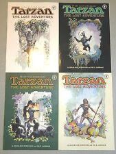 TARZAN THE LOST ADVENTURE 1 2 3 4 SET DARK HORSE COMICS JOHN CARTER OF MARS