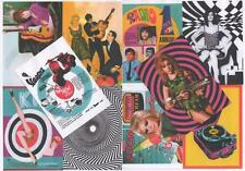 10  POSTCARDS. MOD, SWINGING 60's, POP ART, RETRO.