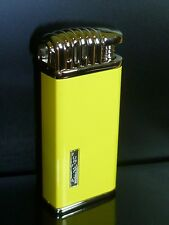 EURO JET Pipe Lighter - Piezo ignition - yellow - NIP - 25703A