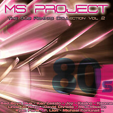 MS PROJECT The 80s Remixes Collection Vol.2 (cd) Neu
