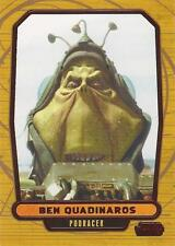 "Star Wars Galactic Files 2 - #354 Red Parallel Card ""Ben Quadinaros"" #27/35"