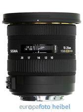 Sigma Super-Weitwinkel-Zoomobjektiv EF 10-20 mm F/3,5 EX DC HSM für Nikon