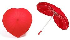 Love heart shape umbrella - Red ( Perfect Saint Valentine gift)