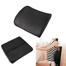 Lumbar Back Support Foam Cushion Cozy Pillow Home Car Auto Seat Relieve fatigue