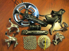 SHIMANO ULTEGRA 6600 GROUP COMPLETE BUILD KIT 2 x 10 SPEED FSA CARBON 170 50/34