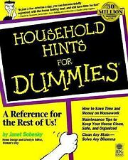 Household Hints For Dummies?, Sobesky, Janet, Good Book