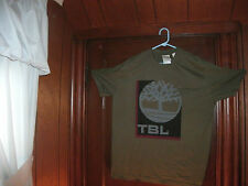 timberland t-shirt S/S forest green front boxyback size XL NEW