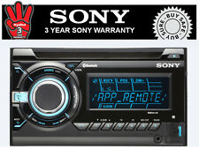 Sony WX-GT90BT XPLOD In-Car Bluetooth MP3/WMA/AAC CD Player
