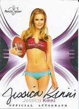 Jessica Kinni 2014 cert auto Official Autograph Benchwarmers trading card 62