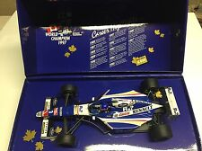 Minichamps 1997 Jacques Villeneuve Williams FW19 World Champion Box 1/18 NIB +