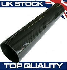 300mm Joiner Carbon Fibre Pipe, 63mm OD - Real Carbon Fiber Air Intake Induction