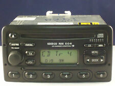 Ford Radio 6000 CD PLAYER STEREO CODICE TRANSIT FOCUS MONDEO ESCORT FIESTA PUMA