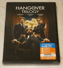 THE HANGOVER TRILOGY: THE HANGOVER & PART II & PART III (1,2 & 3) DVD NEW