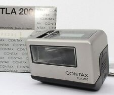 【Near MINT !!】CONTAX TLA200 Shoe Mount Flash for G1 G2 Camera w/ Case from Japan