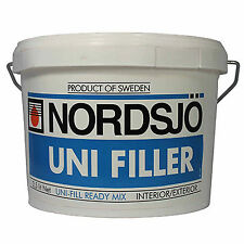 NORDSJO UNI FILLER 2.5L Plaster Repair Internal External Filling Compound