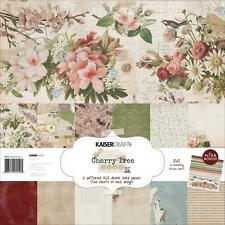 CHERRY TREE LANE Collection 12X12 Scrapbooking Kit Kaisercraft PK550 New