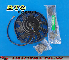 "7 inch 12V volt Electric Cooling Fan Thermo Fan + Mounting kits 7"" Universal"