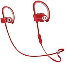 Beats Powerbeats2 Wireless Red Headphones Grade A- - Genuine Beats By Dre