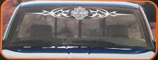 harley davidson shield tribal truck auto sticker decal window logo windshield