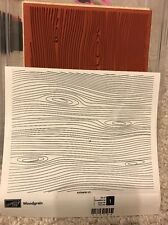 Stampin' Up! Woodgrain Background