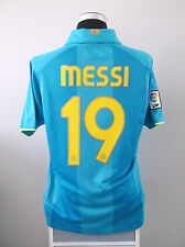 Lionel MESSI #19 Barcelona Away Football Shirt Jersey 2007/08 (L)