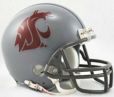 WASHINGTON STATE COUGARS NCAA COLLEGE FOOTBALL RIDDELL GREY MATTE MINI HELMET