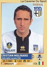 CRISTIAN MOLINARO # ITALIA PARMA.FC RARE UPDATE STICKER CALCIATORI 2014 PANINI
