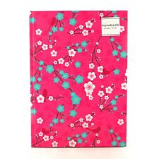 A4 Cherry Notepad Spiral Pad - Book 80gsm Lined  Page Paper Notebook Tabbed Pink