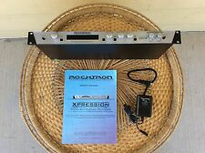 Rocktron Xpression Multi-Effects Guitar & Bass, Rackmount Processor w/ Manual.