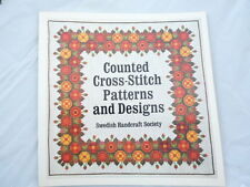 Counted Cross Stitch Patterns and Designs by Swedish Handcraft Guild Staff...