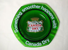 Canada Dry Something Smoother Happens Ashtray.