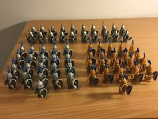 62 Lego Compatible Medieval Castle Knights Armor Soldiers Minifigure Toys Lot