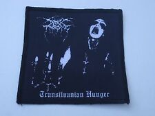 DARKTHRONE TRANSILVANIAN HUNGER SUBLIMATED PATCH