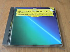 Karajan - Brahms : Symphony No. 3 - Tragic Overture - CD DGG West Germany