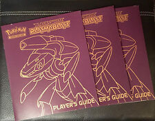 Pokemon TCG BLACK & WHITE PLASMA BLAST PLAYERS GUIDE ELITE TRAINER BOOK/MANUAL.