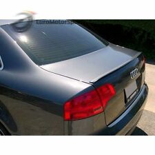 * Painted For Audi A4 S4 B7 Sedan Trunk Lip Spoiler Dolphin Gray Met LX7Z 05-08