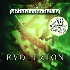 20 JAHRE SÖHNE MANNHEIMS - EVOLUZION - BEST OF  CD NEU