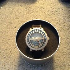 Astrolabe watch: 24 hour GMT World Travel and date ocean Navigation NIB