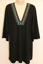 NWT Dotti Swimsuit Bikini Cover Up Dress Size XS Black